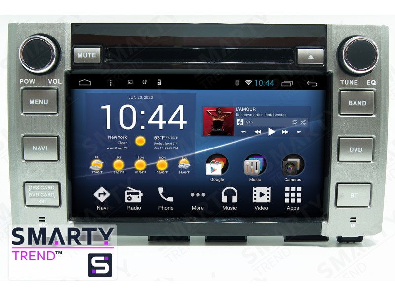 Toyota Tundra Android Car Stereo Navigation In-Dash Head Unit
