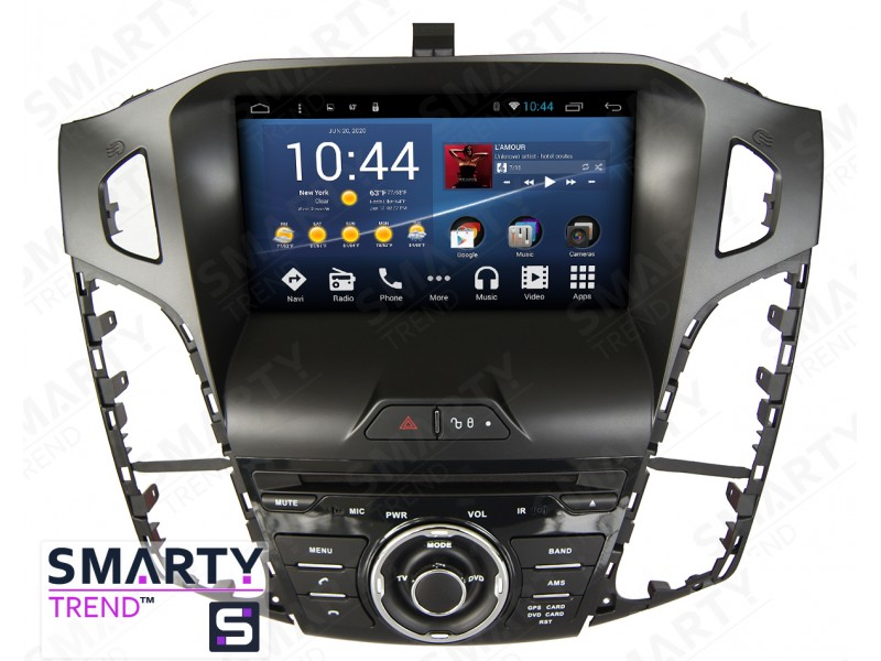 ford focus iii 2012 2016 android car stereo navigation. Black Bedroom Furniture Sets. Home Design Ideas