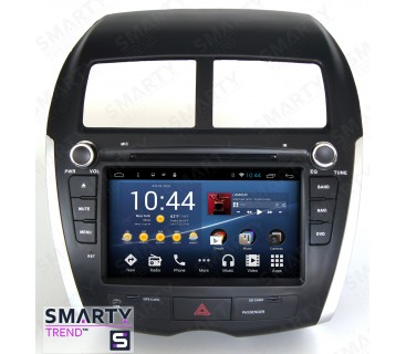 mitsubishi asx 2010 2012 android car stereo navigation. Black Bedroom Furniture Sets. Home Design Ideas