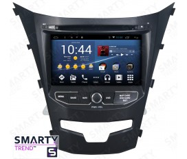 Ssang Yong Korando 2014-2015 Android Car Stereo Navigation In-Dash Head Unit