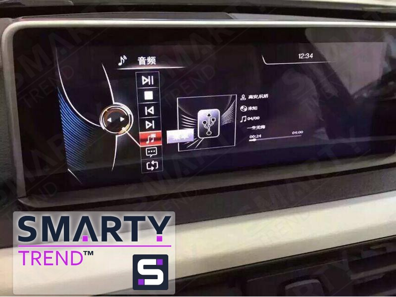 Bmw 3 Series  F30  F31  F34  Android Car Stereo Navigation In