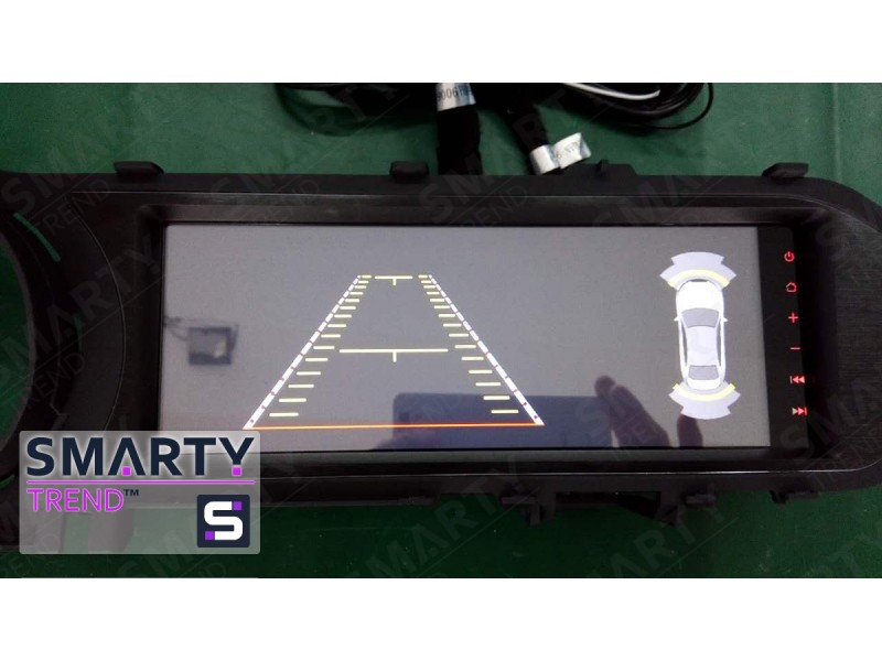 Mercedes C-Class (W204) Android Car Stereo Navigation In