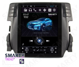 Honda CIVIC 2016+ (Tesla Style) Android Car Stereo Navigation In-Dash Head Unit