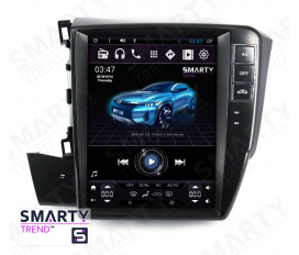 Honda CIVIC 4D 2012-2014 (Tesla Style) Android Car Stereo Navigation In-Dash Head Unit