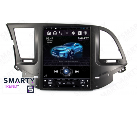 Hyundai Elantra 2016+ (Tesla Style) Android Car Stereo Navigation In-Dash Head Unit