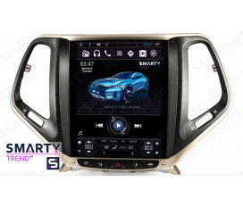 Jeep Cherokee (Tesla Style) Android Car Stereo Navigation In-Dash Head Unit