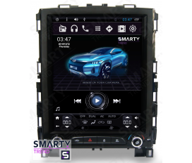 Renault Koleos (Tesla Style) Android Car Stereo Navigation In-Dash Head Unit