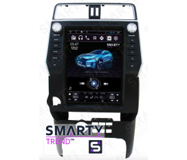 Toyota Land Cruiser Prado 150 2017+ (Tesla Style) Android Car Stereo Navigation In-Dash Head Unit