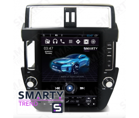 Toyota Land Cruiser Prado 150 2009-2013 (Tesla Style) Android Car Stereo Navigation In-Dash Head Unit