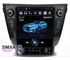 Nissan Qashqai 2014 (Automatic and Manual) (Tesla Style) Android Car Stereo Navigation In-Dash Head Unit