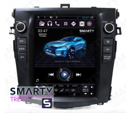 Toyota Corolla 2007-2013 (Tesla Style) Android Car Stereo Navigation In-Dash Head Unit