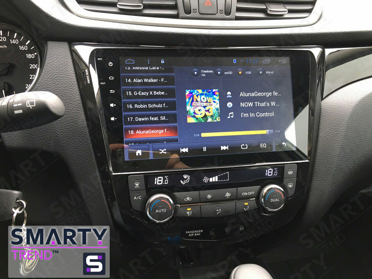 Nissan Qashqai 2014 Android In Dash Car Stereo Navigation