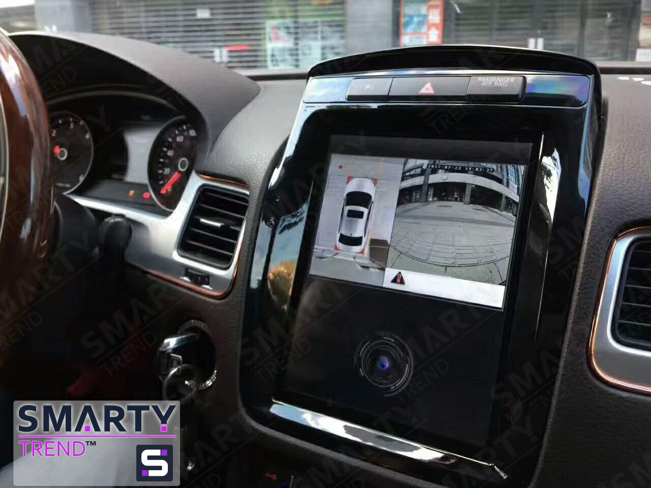 SMARTY Trend head device overview for Volkswagen Touareg