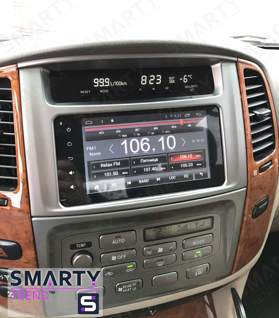 SMARTY Trend for Toyota Land Cruiser 100