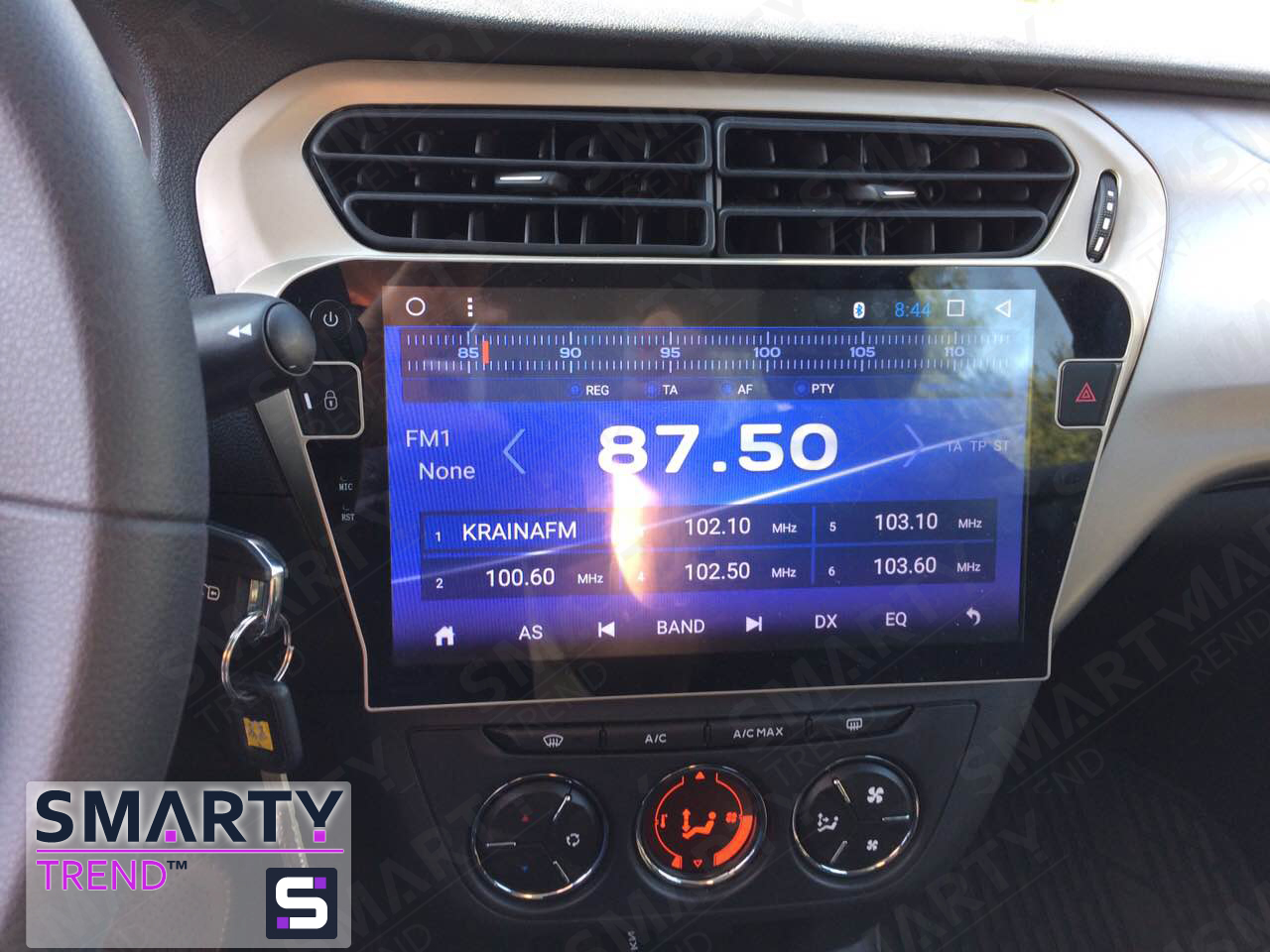 SMARTY Trend head unit for Citroen C-Elysee