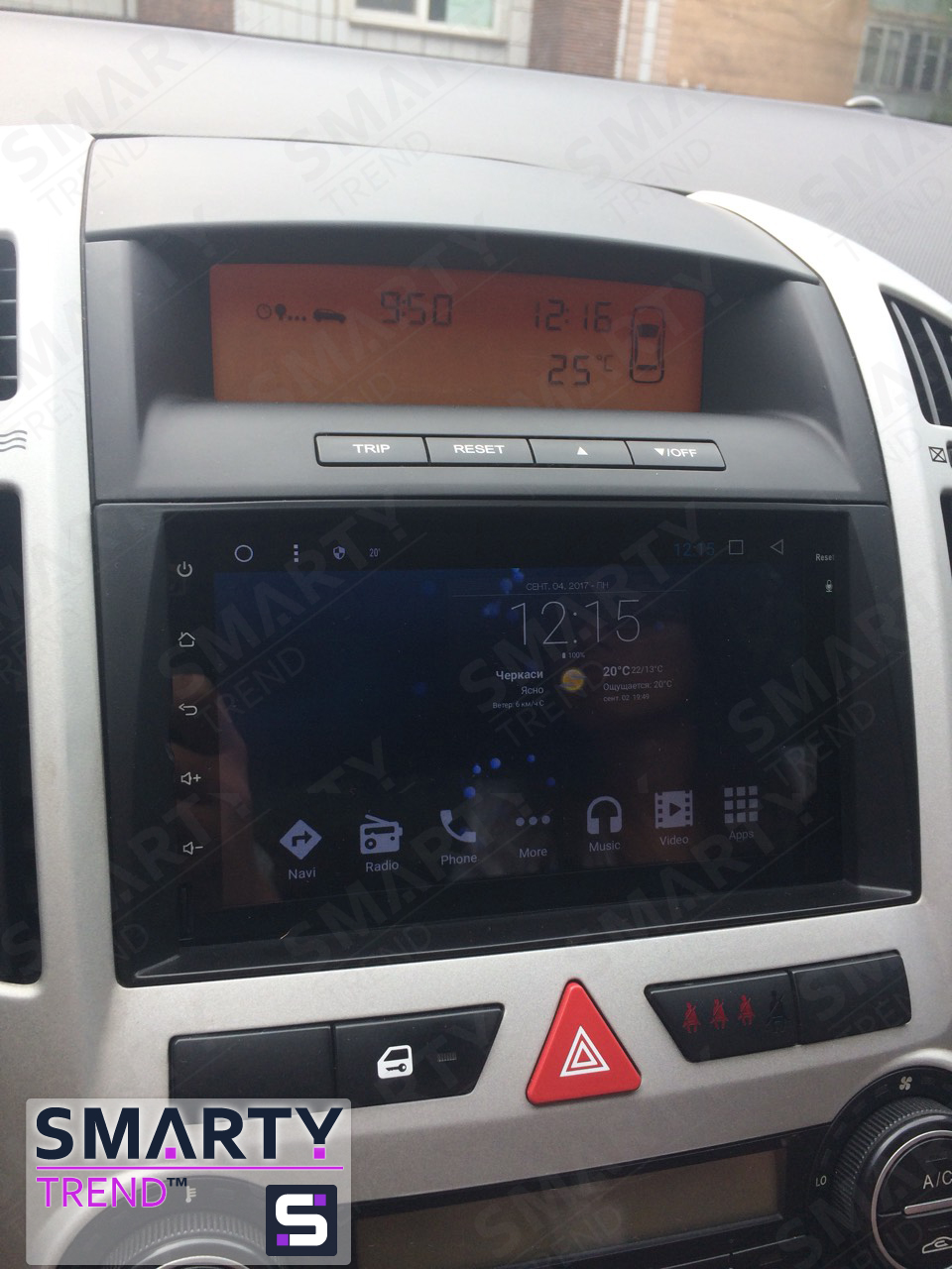 KIA Ceed and SMARTY Trend head unit