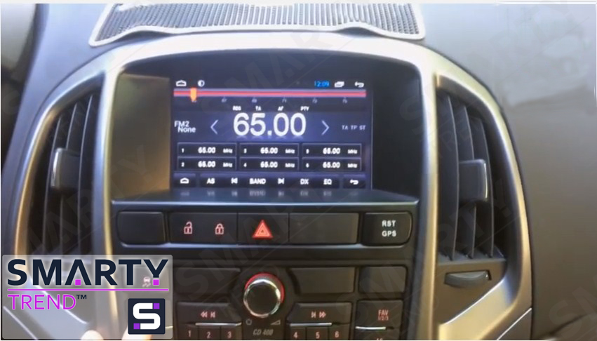 The SMARTY Trend head unit for Opel Astra J