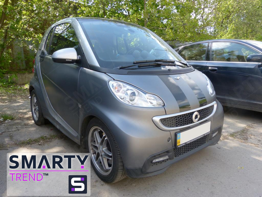 SMARTY Trend head for Mercedes Smart