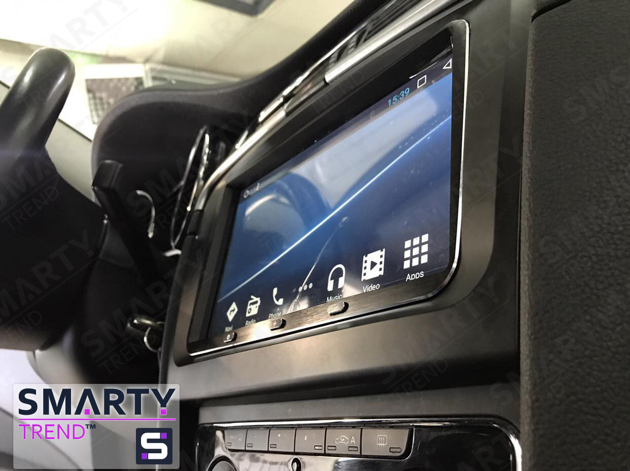 SMARTY Trend head unit for Skoda Superb