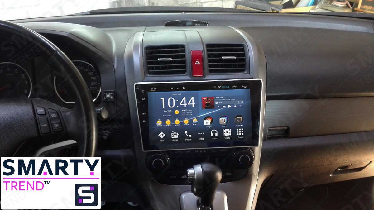 Honda CR-V Android in-dash Car Stereo Navigation head unit