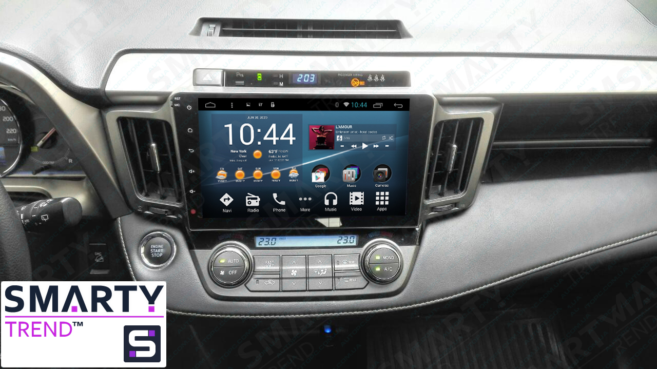 Toyota toyota rav 2013 : Toyota RAV4 2013-2016 Android in-dash Car Stereo Navigation head ...