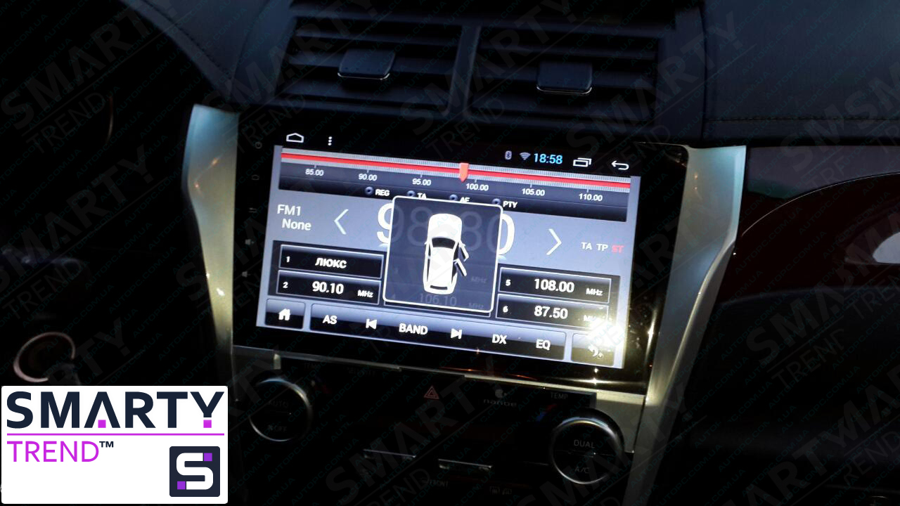 Toyota Camry V50 Android in-dash Car Stereo Navigation head