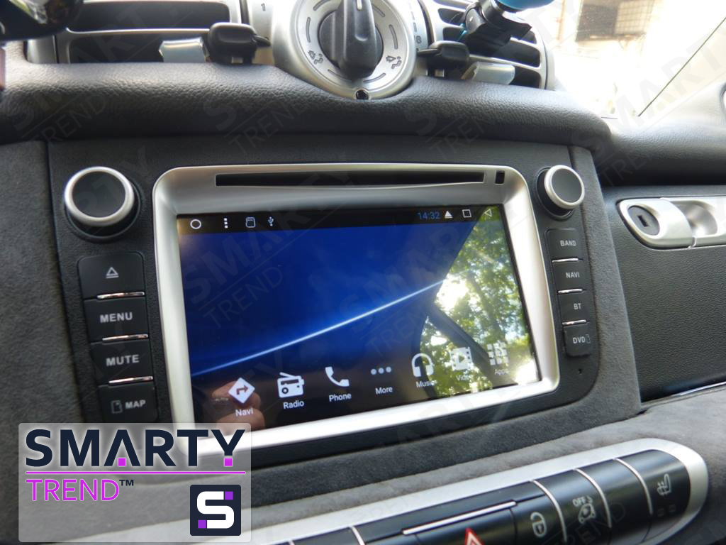 SMARTY Trend head unit for Mercedes Smart