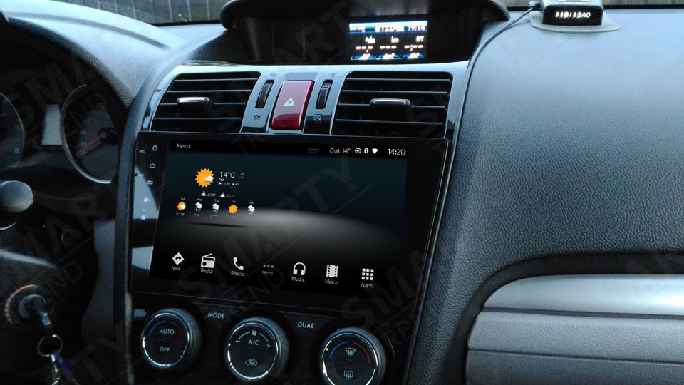 Subaru Forester 2013-2016 Android in-dash Car Stereo