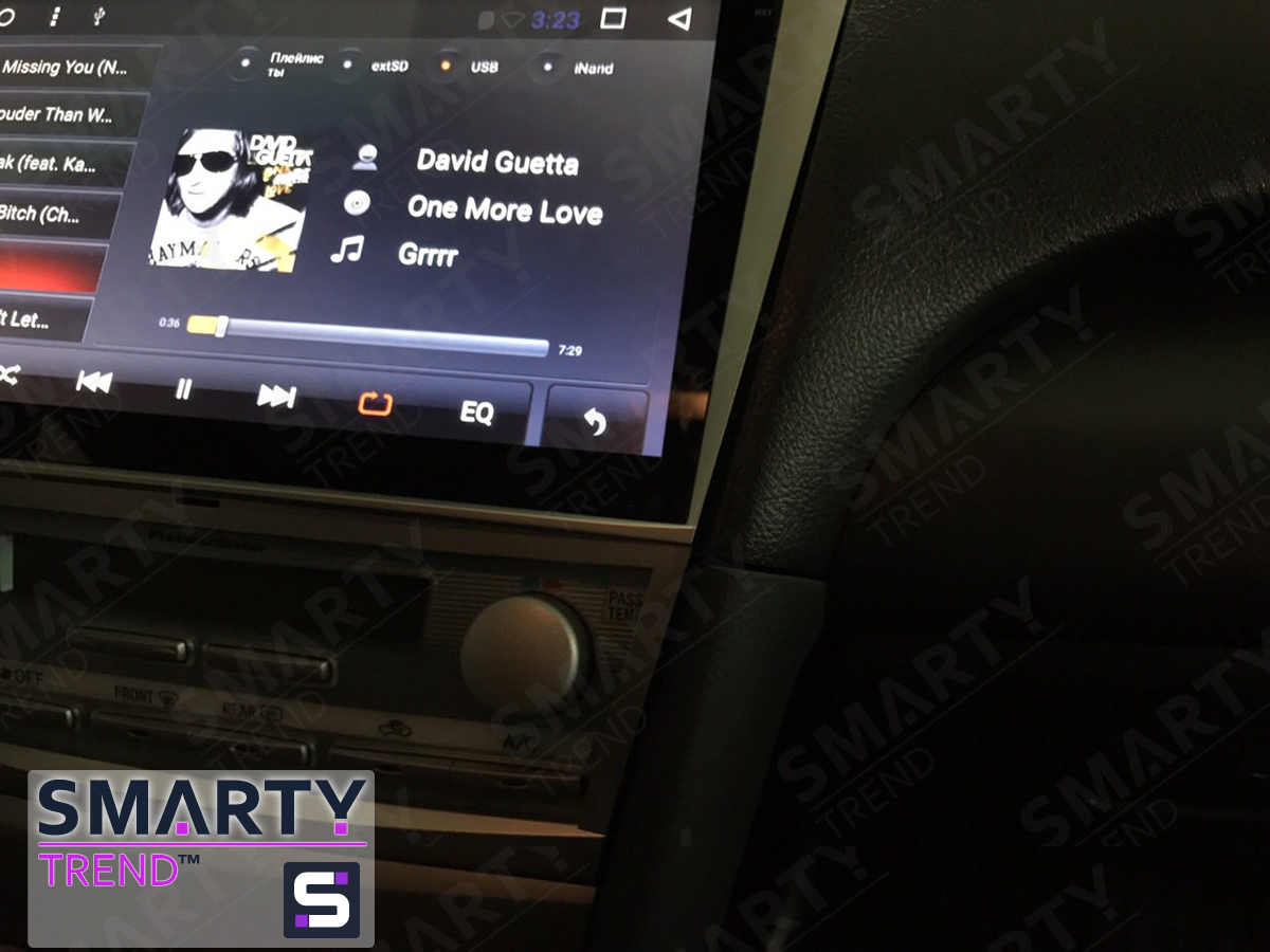 Toyota Camry V40 SMARTY Trend head unit