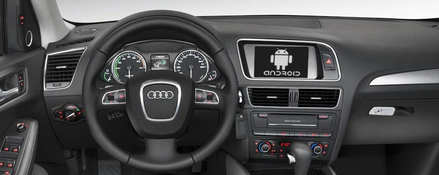 Android OS in your car as multimedia infotainment system!
