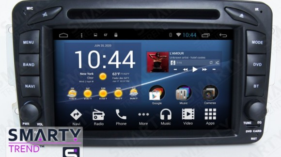 Video review the SMARTY Trend Entertainment Multimedia for some Mercedes models.