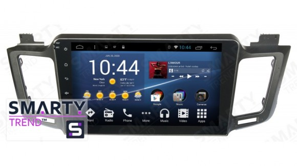 SMARTY Trend Entertainment Multimedia for Toyota RAV4 (2013-2016) video review.