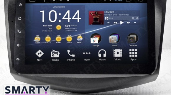 SMARTY Trend Entertainment Multimedia for Toyota RAV4 (2005-2013) video review.