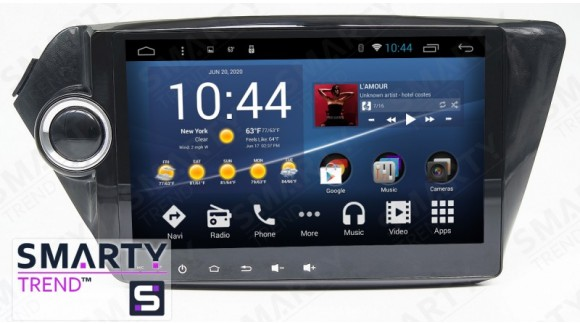 SMARTY Trend Entertainment Multimedia for KIA Rio K2 video review.