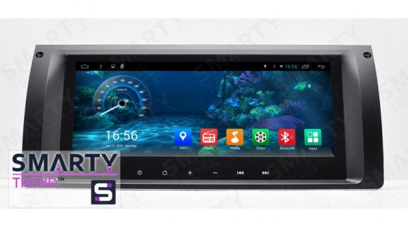 SMARTY Trend Entertainment Multimedia for BMW 5 Series E39 and BMW X5 Series video review.