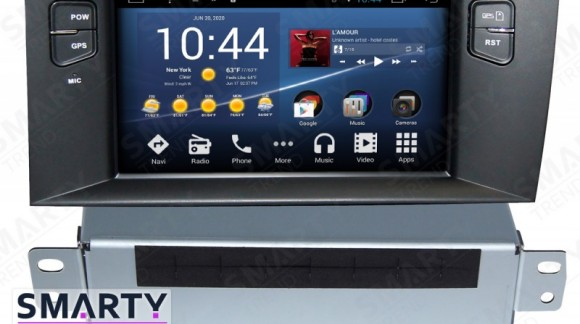 SMARTY Trend Entertainment Multimedia for Citroen C4 (2011-2014) video review.