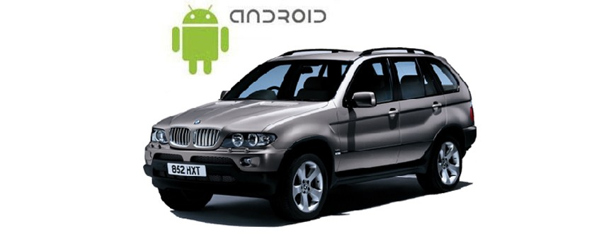 An example of installed SMARTY Trend Entertainment Multimedia on BMW X5 Series.