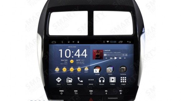 The SMARTY Trend Entertainment Multimedia for Mitsubishi ASX (2010-2012), Peugeot 4008, Citroen C4 Aircross video review.