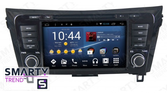 The SMARTY Trend Entertainment Multimedia for Nissan Qashqai 2014 and Nissan X-Trail 2014 video review.