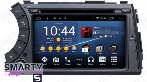 The SMARTY Trend Entertainment Multimedia for SsangYong Kyron video review.