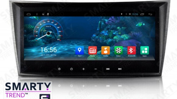 The SMARTY Trend Entertainment Multimedia for Mercedes Benz E-Class (w211) video review.