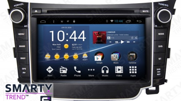 The SMARTY Trend Entertainment Multimedia for Hyundai i30 video review.