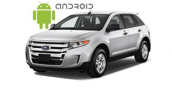 An example of installed SMARTY Trend Entertainment Multimedia on Ford Edge.