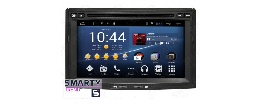 The SMARTY Trend Entertainment Multimedia for Peugeot 3008 video review.