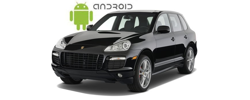 An example of installed SMARTY Trend Entertainment Multimedia on Porsche Cayenne.