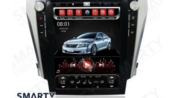 The SMARTY Trend Entertainment Multimedia for Toyota Camry V50 (2011-2014) and Toyota Camry V55 (2014-2015) video review.