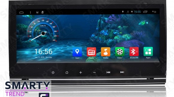 The SMARTY Trend Entertainment Multimedia for Audi A4/S4/RS4 video review.
