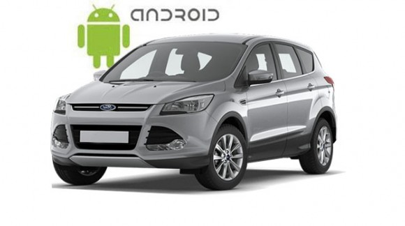 An example of installed SMARTY Trend Entertainment Multimedia on Ford Kuga (2013-2015).