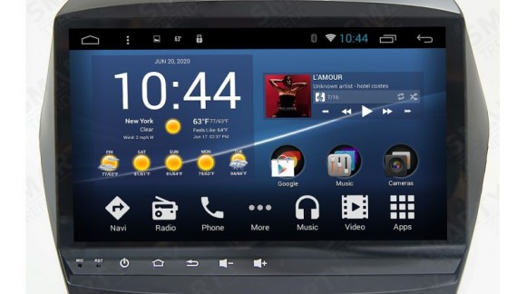 The SMARTY Trend Entertainment Multimedia for Hyundai ix35 video review.