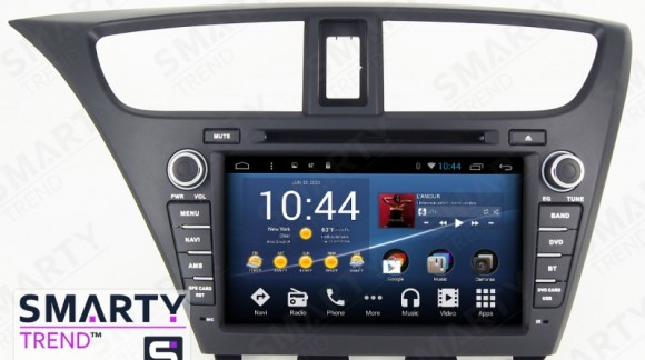 The SMARTY Trend Entertainment Multimedia for Honda CIVIC 5D (2014) video review.